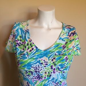 Lilly Pulitzer cotton T-shirt dress